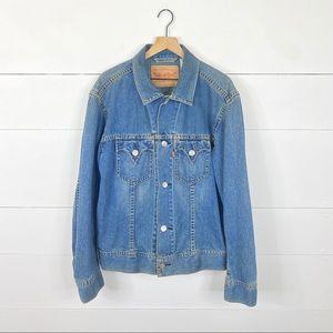 Levi's Type 1 Iconic Denim Jacket Size XL